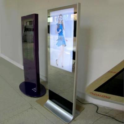 超薄超窄镜面广告机