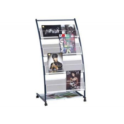 不锈钢展示架、杂志架