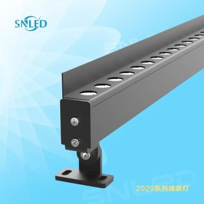 2029户外SNLED线条灯12W铝条洗墙灯