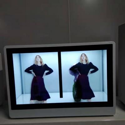 东莞惠华23.6红外触摸显示屏、展厅透明橱窗