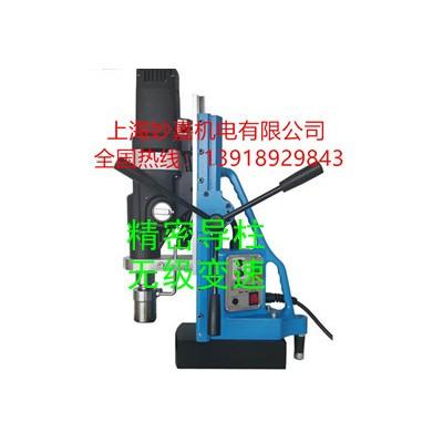 精密导柱,无级变速,可攻丝可钻孔的磁力钻MTD140