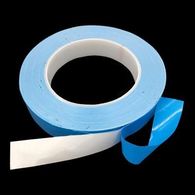 白色蓝膜导热双面胶 LCD屏/手机电子产品耐高温散热胶贴